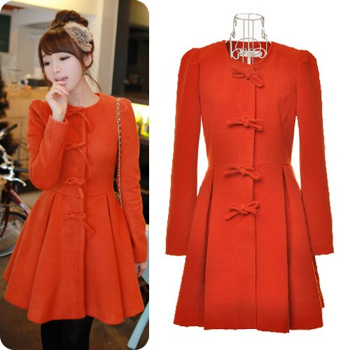 2012-New-Fashion-Korean-Style-Ladies-Wool-Warm-Dress-Bow-Slim-Fit-Coats-Free-Shipping-Q1412