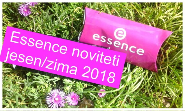Essence noviteti jesen/zima 2018