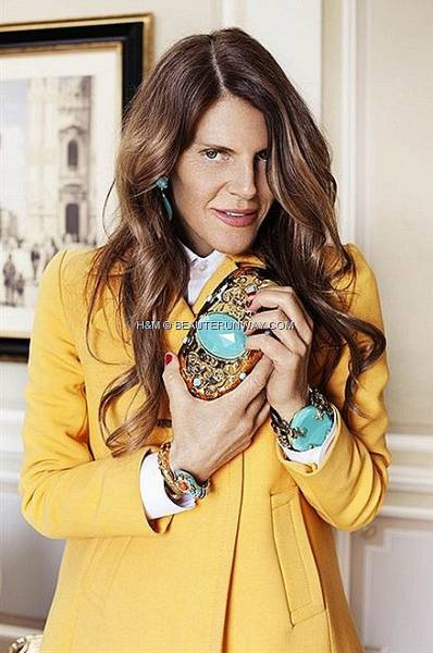 ANNA DELLO RUSSO HM ADR CLUTCH BRACELET GOLD UNBASHEDLY GLAMOROUS ACCESSORIES FALL WINTER 2012 FASHION WEEK NEW YORK LONDON thumb16