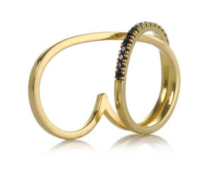 Joanna Dahdah double ring