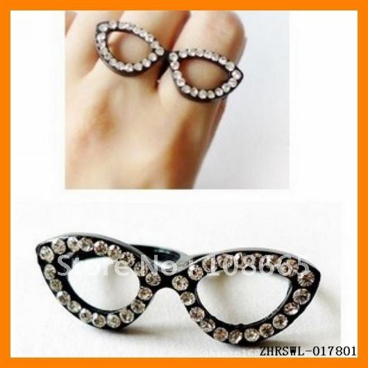 Morden-Glasses-Ring-Double-Finger-Ring-Double-Rings-Jewellery-Drop-Shipping-1pcs-ZHRSWL-017801
