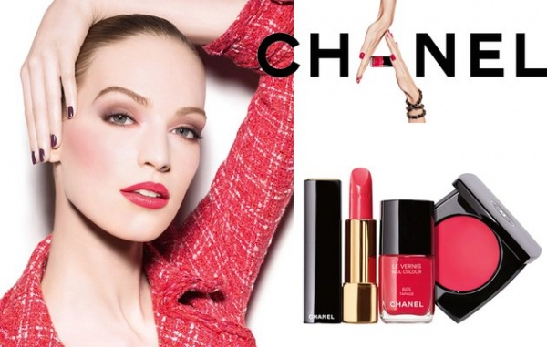 Chanel Notes du Printemps Spring 2014 Makeup content