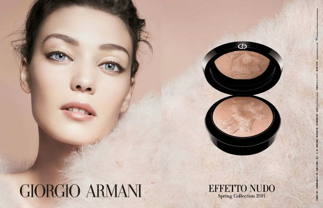 giorgio armani beauty ad campaign advertising spring summer 2014