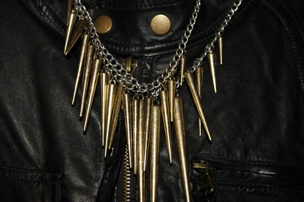 Topshop Spike Necklace 003