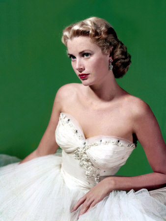 Grace-Kelly-strapless-dress