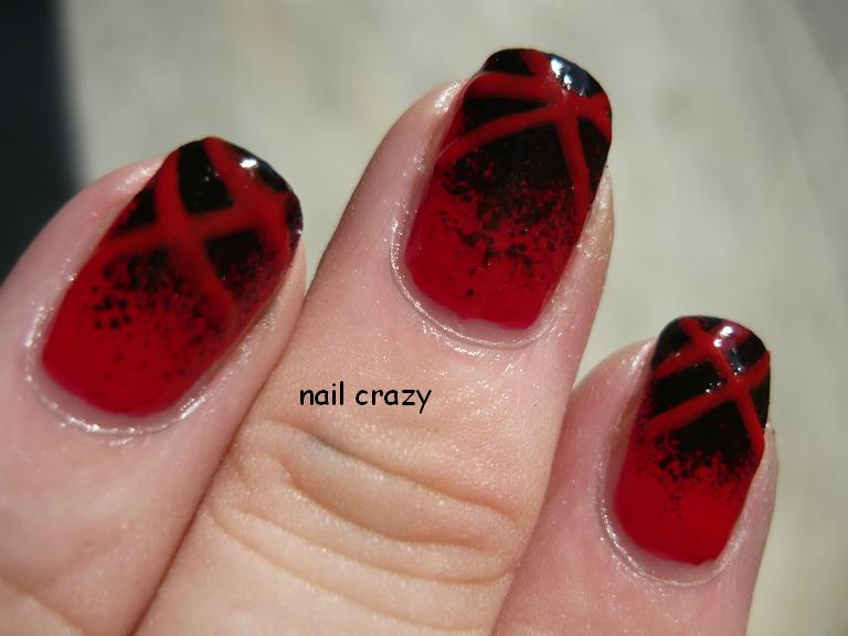 ch nail 1 with chanel black satin 2