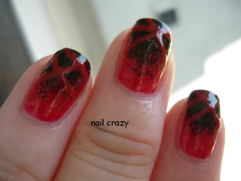 ch nail 1 with chanel black satin 4