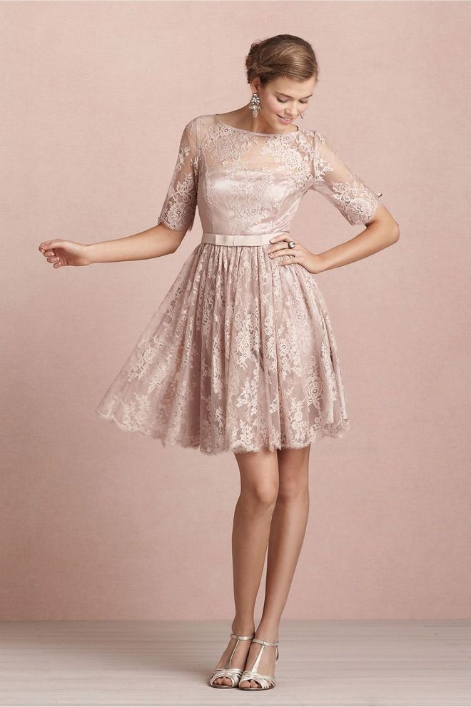 dizajner BHLDN haljina tea rose dress