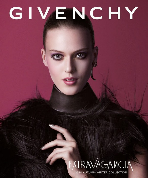 givenchy beauty extravagancia ad campaign advertising fall winter 2014 2015 cr