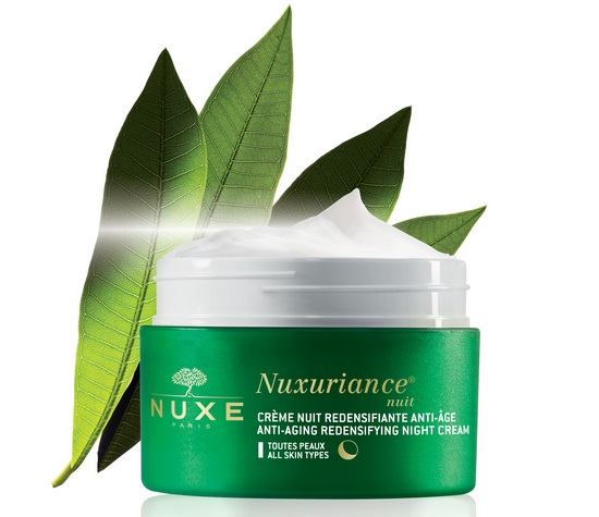 Nuxuriance NightCream All Open flower cr
