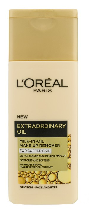 LOREAL extraordinary oil milk in oil make up remover