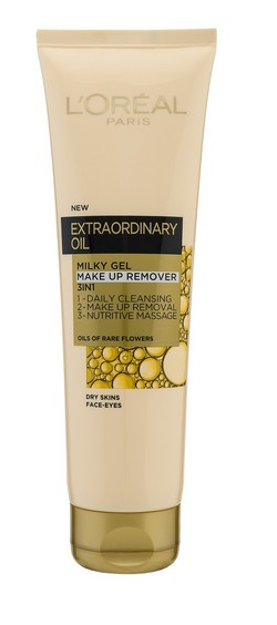 LOREAL extraordinary oil milky gel make up remover cr