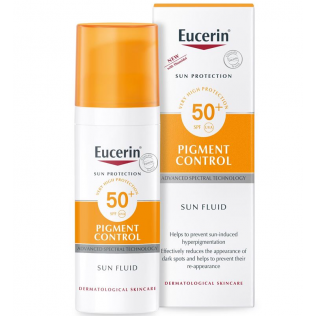 eucerin sun protection 50 fluid pigment control 50 ml