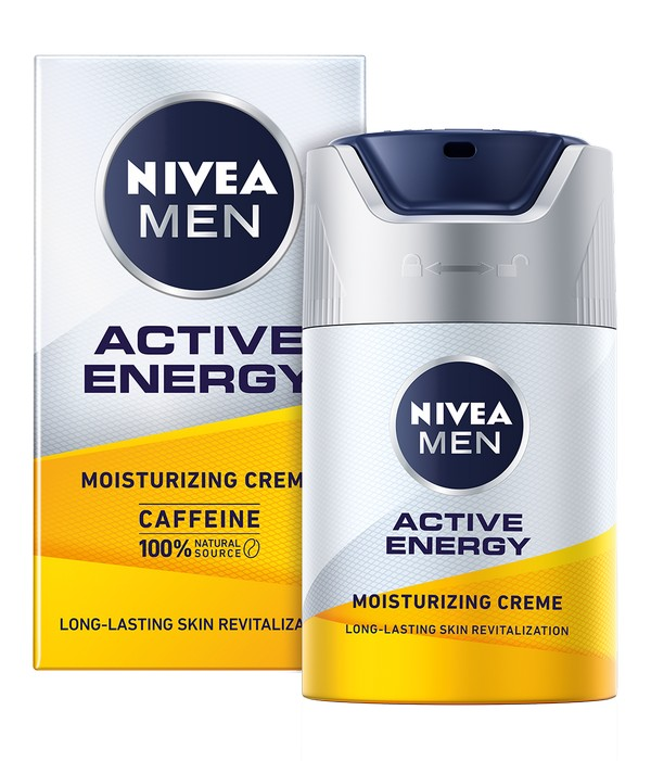 NIVEA MEN Active Energy krema za lice