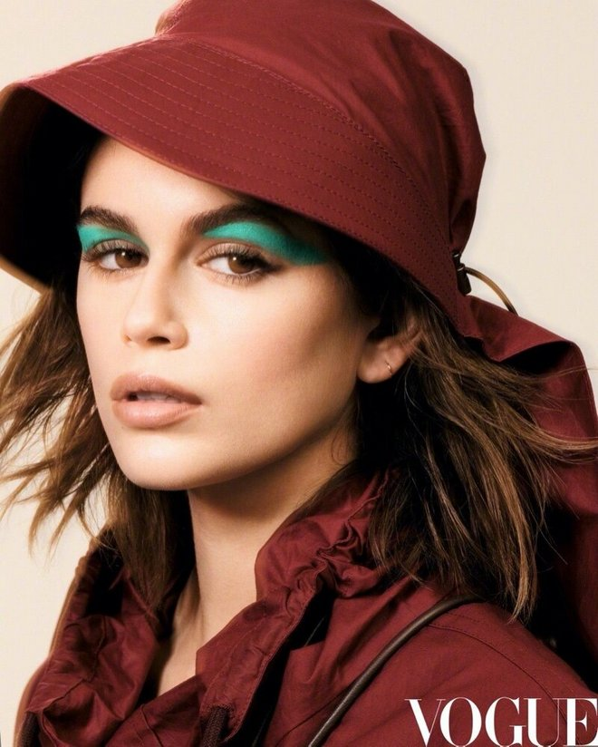Kaia Gerber Vogue China Cover Photoshoot10