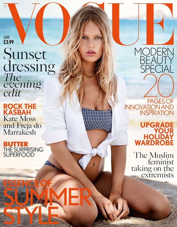 anna ewers vogue uk june 2015 cover