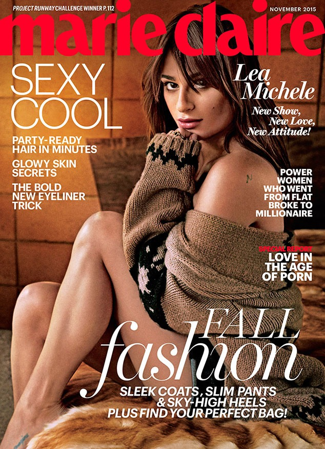 Lea-Michele-Marie-Claire-cover-November-2015