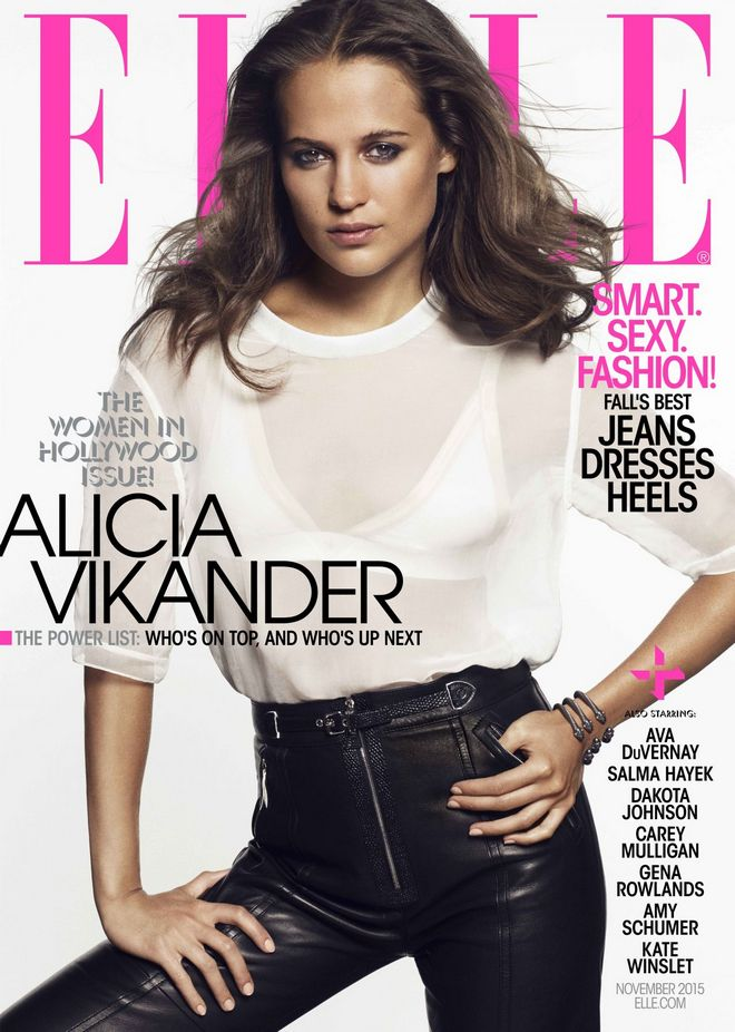 alicia-vikander-elle-magazine-november-2015-cover 2