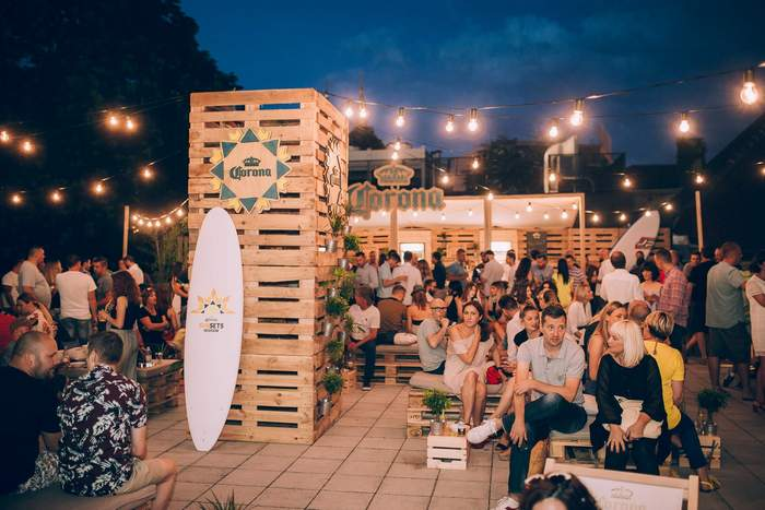 Corona Sunsets Session Pop up bar 7