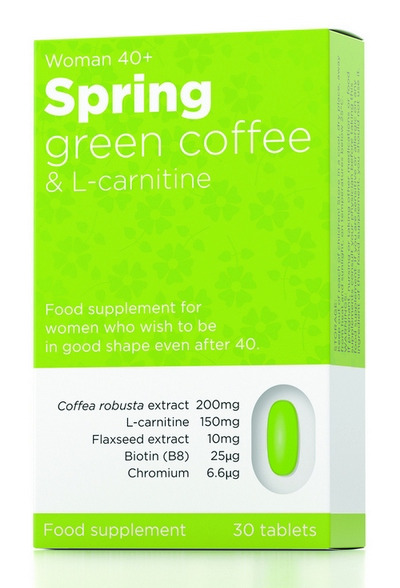 SPRING green coffe zrcalno cr