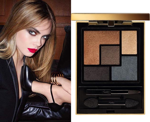 YSL Leather Fetish fall 2014 makeup collection1