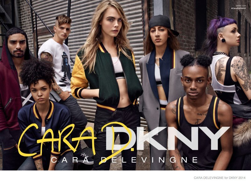 cara delevingne dkny collection ad campaign2