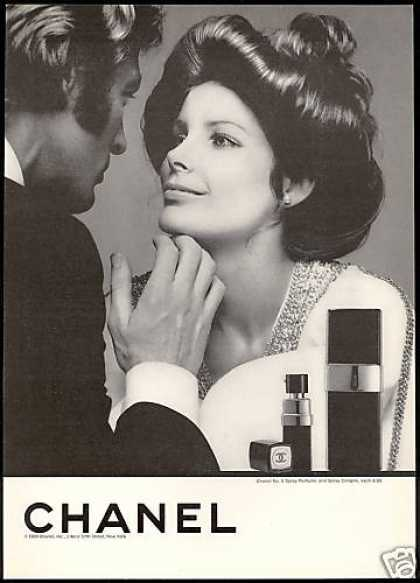 Vintage 1960 Chanel No. 5 ad
