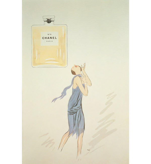 vintage beauty ad 1921 chanel n5