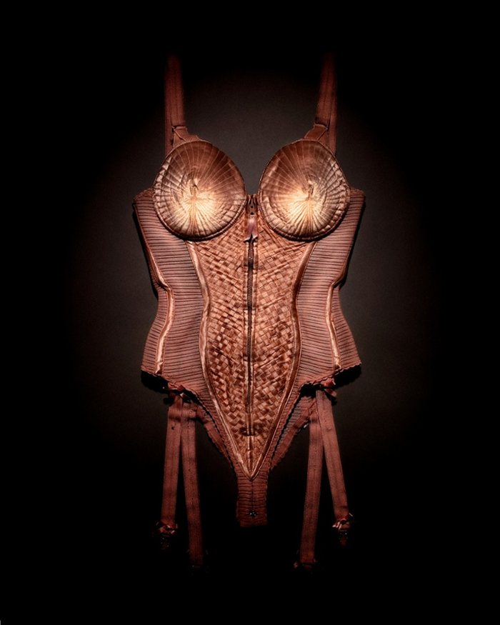 The corset worn by Madonna on her Blond Ambition World Tour in 1990