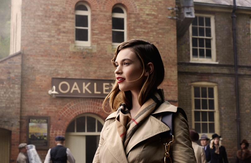 Lily-James-Tale-Thomas-Burberry-Film