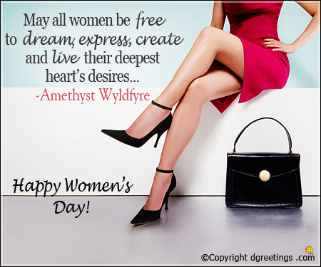 Happy Womens day to all of you