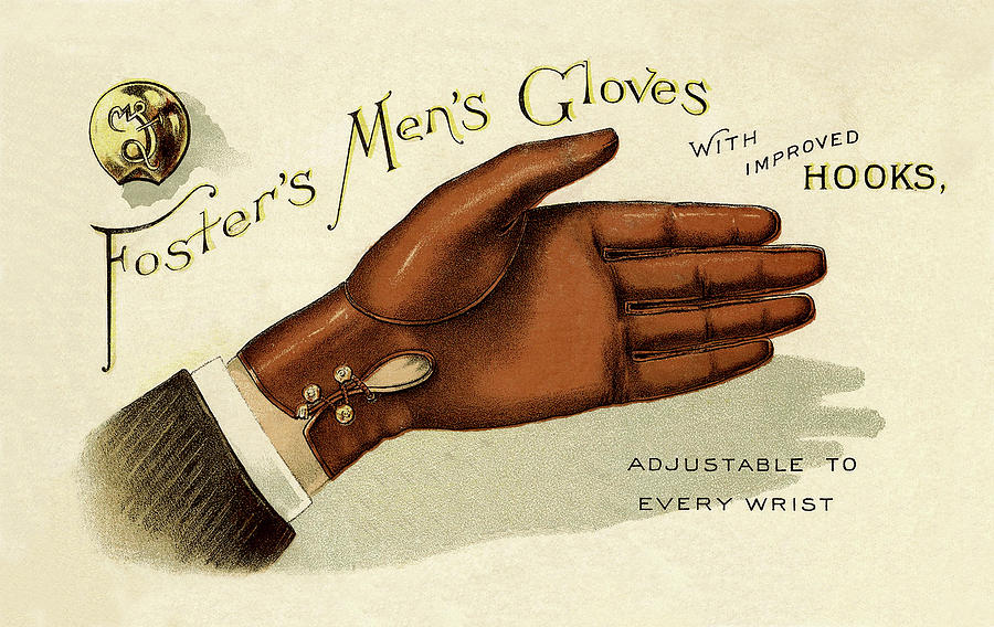 vintage glove advertisement andrew fare