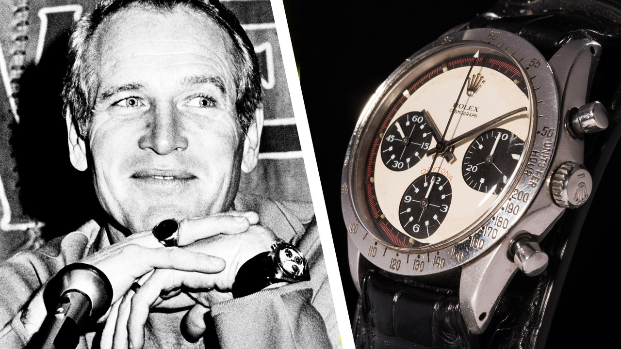 paul newman everett collection rolex daytona