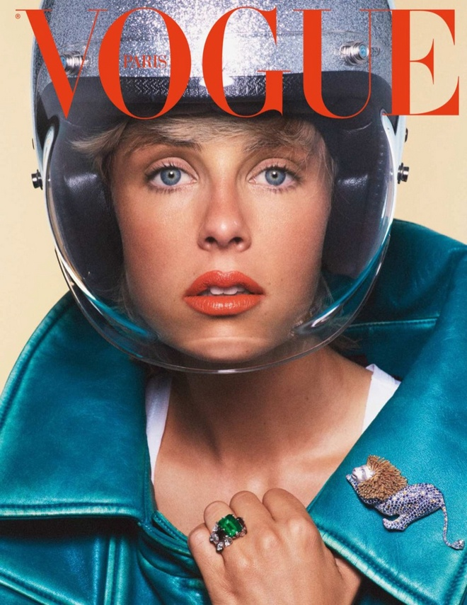 Vogue Paris Cover Models Jewelry12