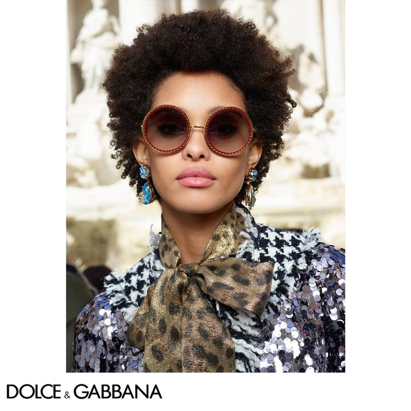Dolce Gabbana Eyewear Fall Winter 2018 Campaign