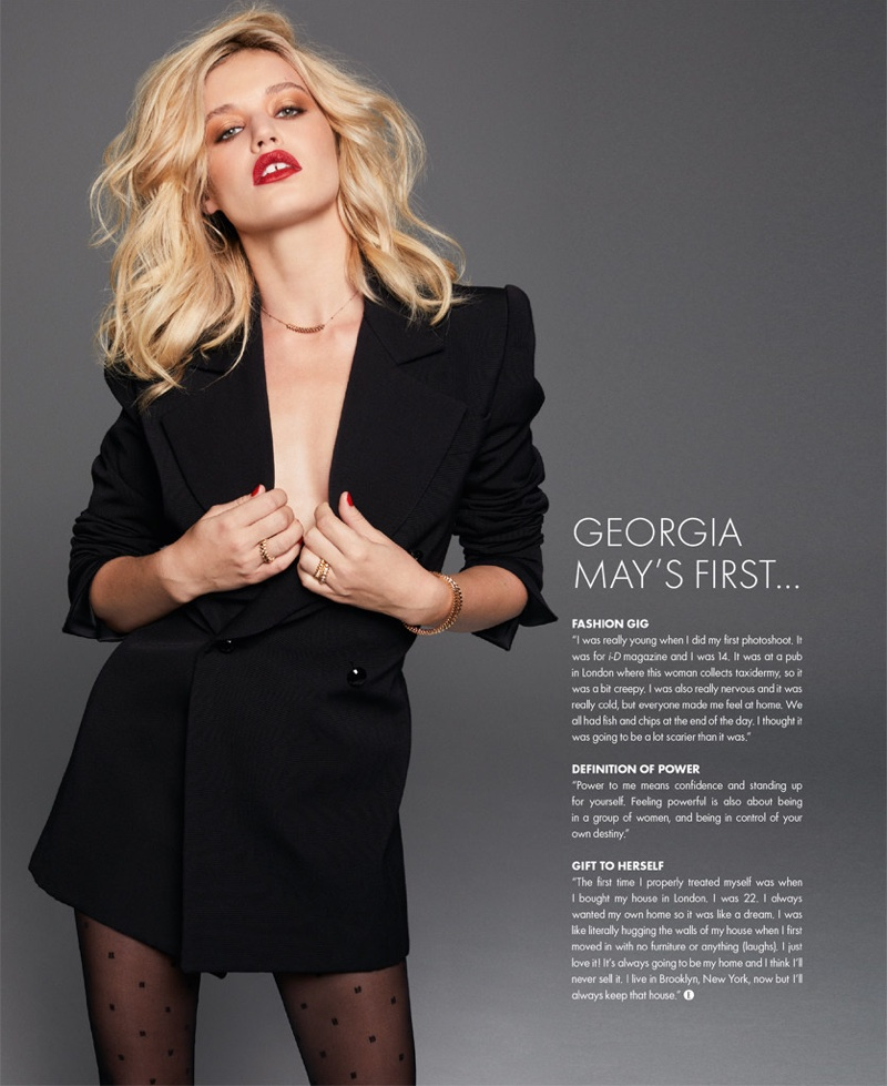 Georgia May Jagger ELLE Singapore Cover Photoshoot01