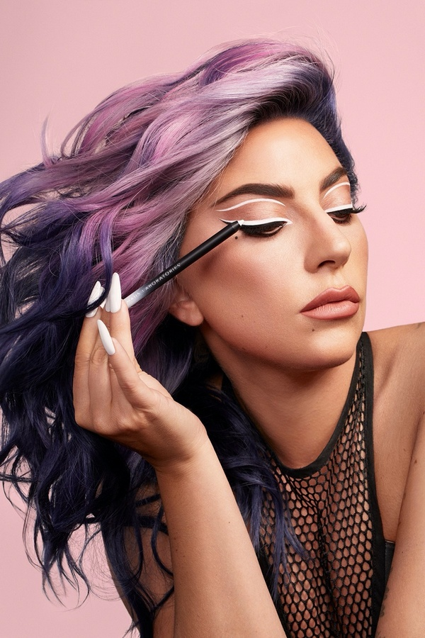 Lady Gaga Haus Laboratories Gel Eyeliner Campaign01