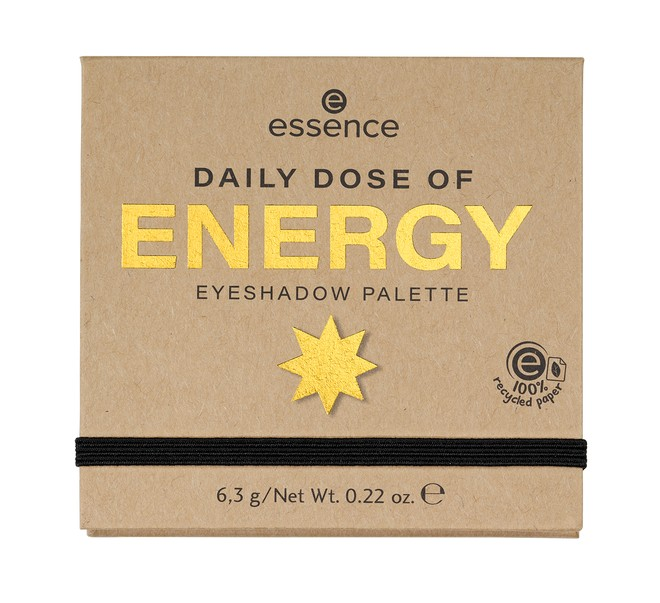 4059729271075 essence DAILY DOSE OF ENERGY EYESHADOW PALETTE Image Front View Closed png