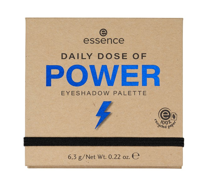4059729271082 essence DAILY DOSE OF POWER EYESHADOW PALETTE Image Front View Closed png