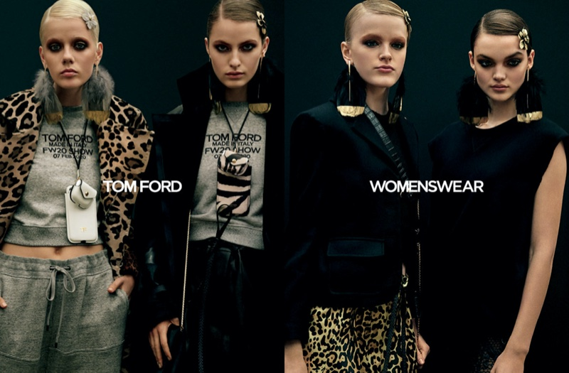 Tom Ford Fall Winter 2020 Campaign03