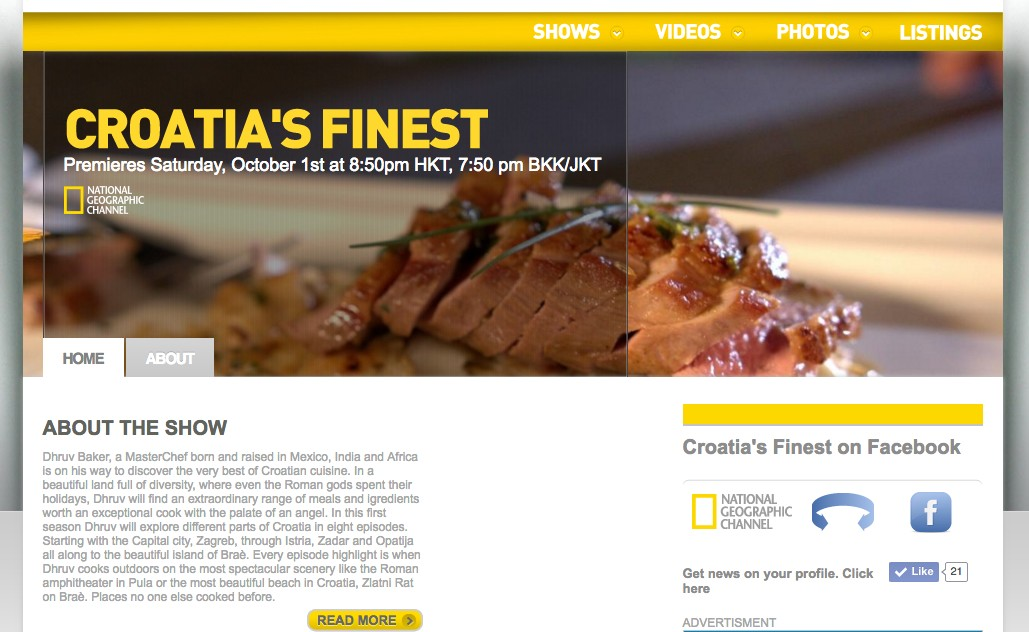 National Geographic Channel Asia- about Croatias Finest