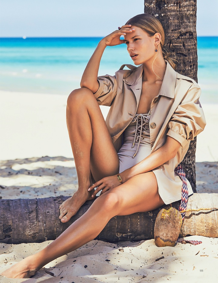Alena Blohm Beach Photoshoot06